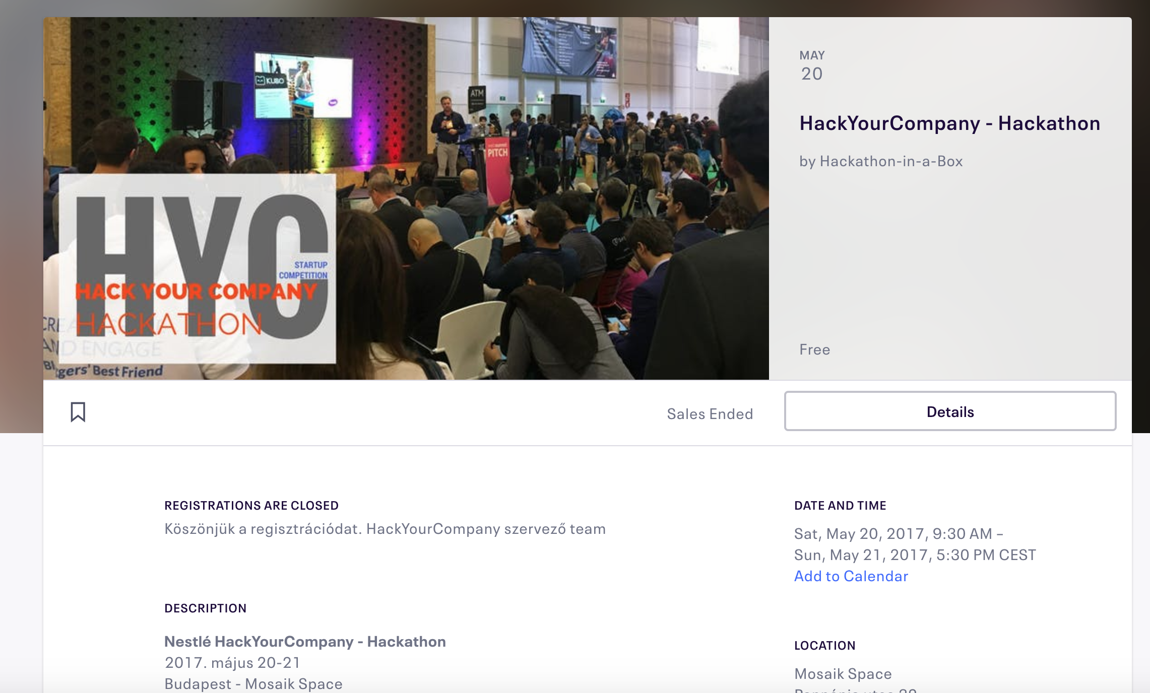 Hack Your Company – Nestlé Demo Day and Hackathon event